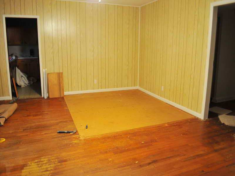 Image of: Painting Over Wood Paneling Walls