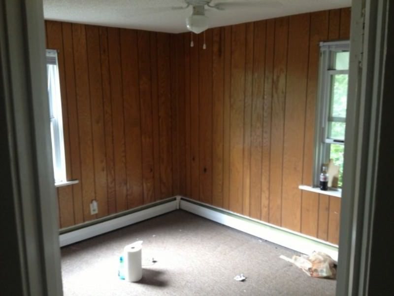 Painting Over Wood Paneling