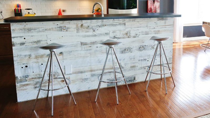 Peel And Stick Reclaimed Wood Panels
