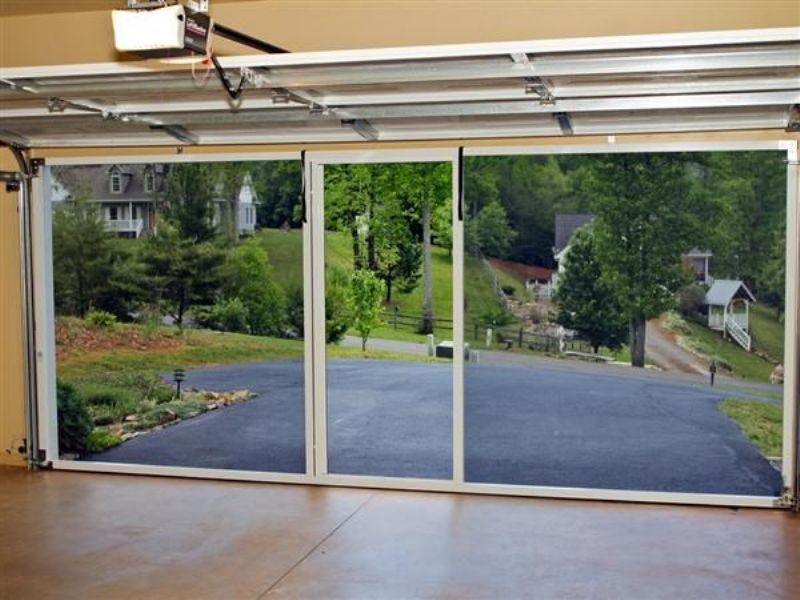 Image of: Perfect Garage Door Screen Panels