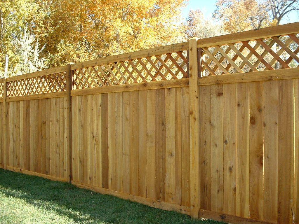 Image of: Perfect Wood Fencing Panels