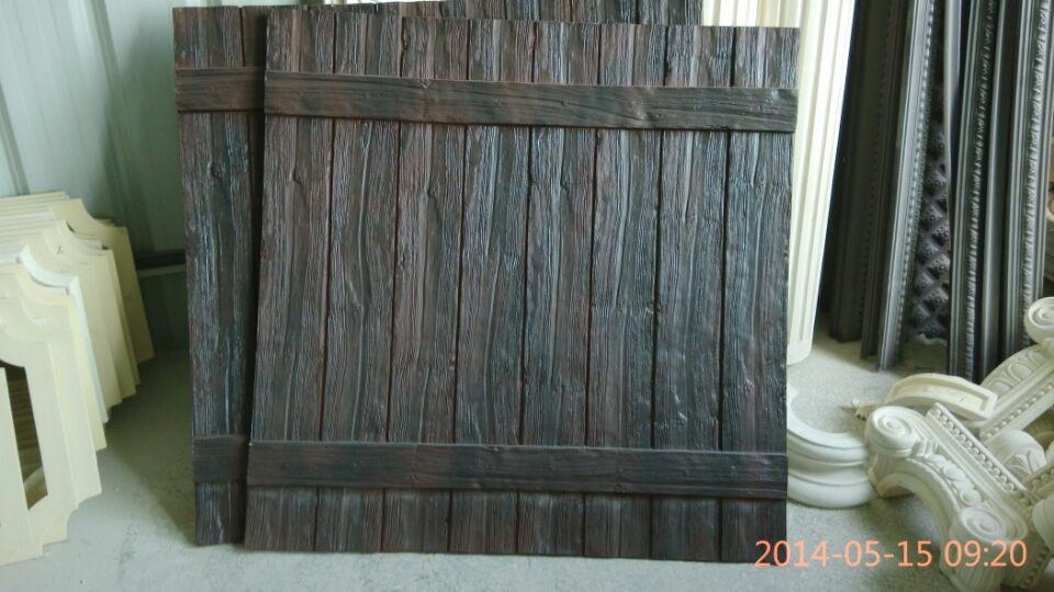 Image of: Polyurethane Faux Wood Panels