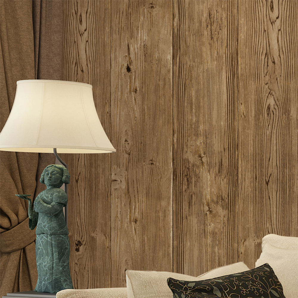 Realistic Faux Wood Wall Panels