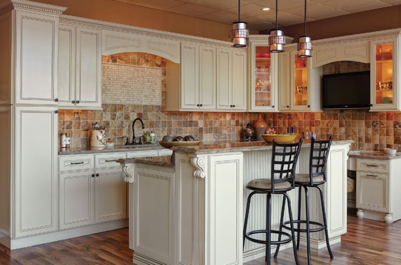 Image of: Recessed Panel Kitchen Cabinet Doors