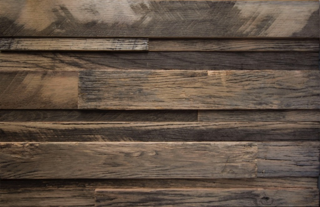 Reclaimed Wood Panels Installation