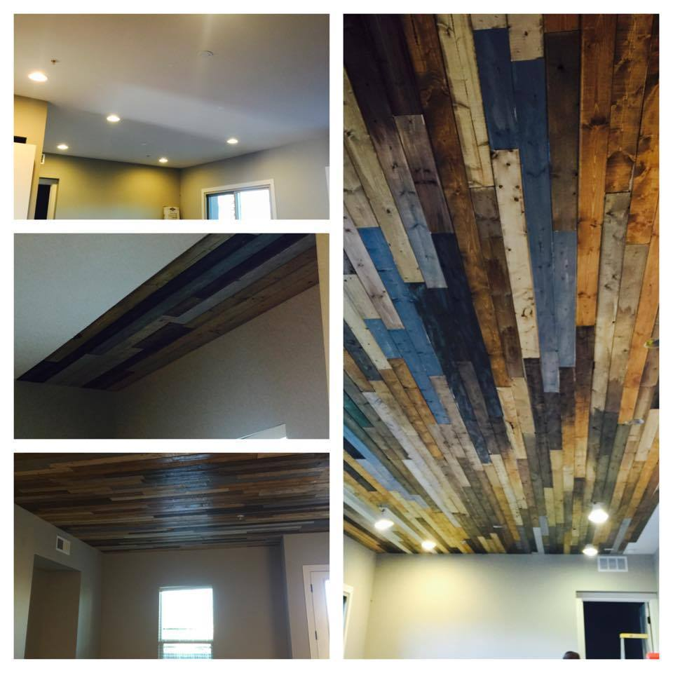 Image of: Remodeling Faux Reclaimed Wood Paneling