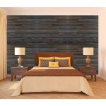 Rustic Faux Wood Paneling