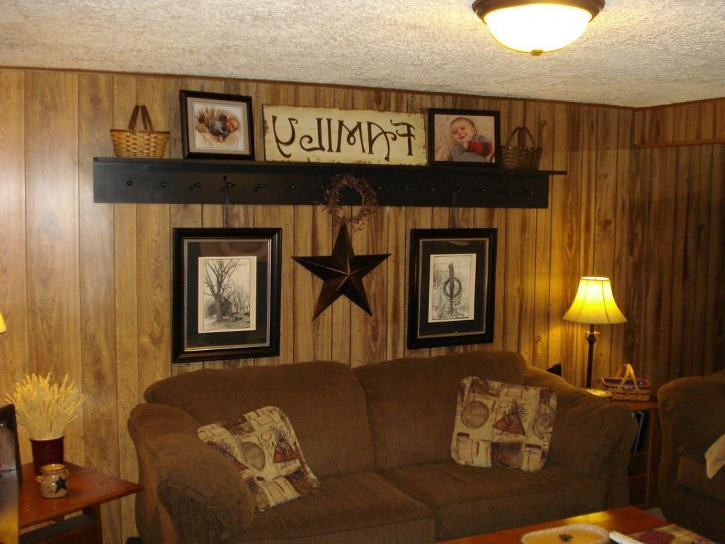 Rustic Wood Paneled Walls