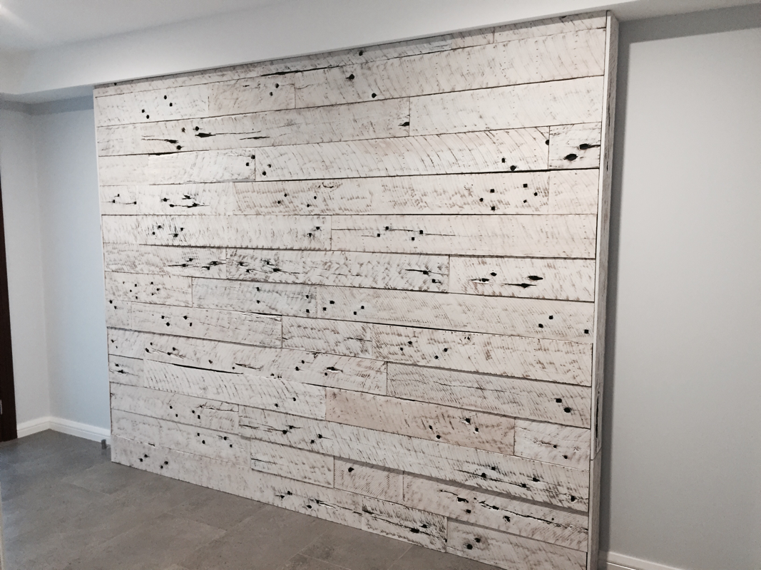 Image of: Rustic Wood Paneling for Walls 4×8
