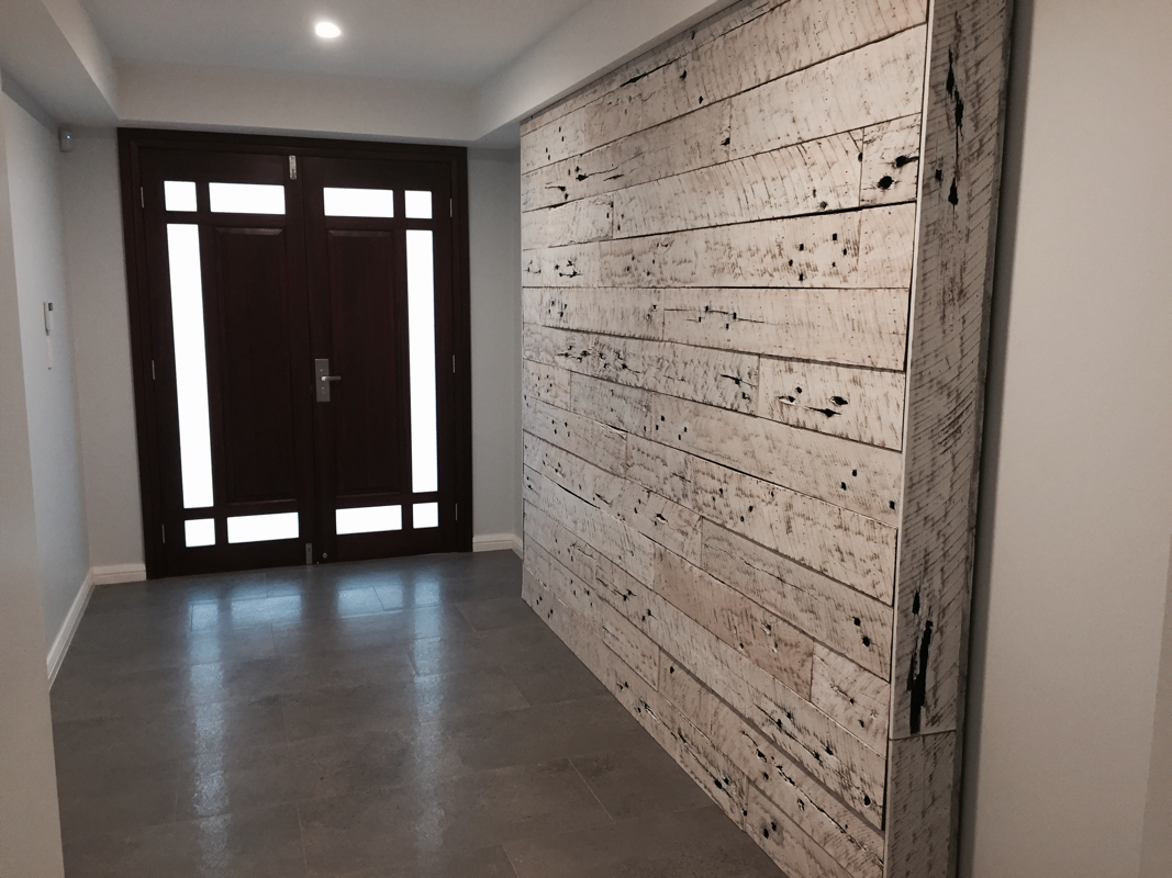 Image of: Rustic Wood Paneling for Walls Decor