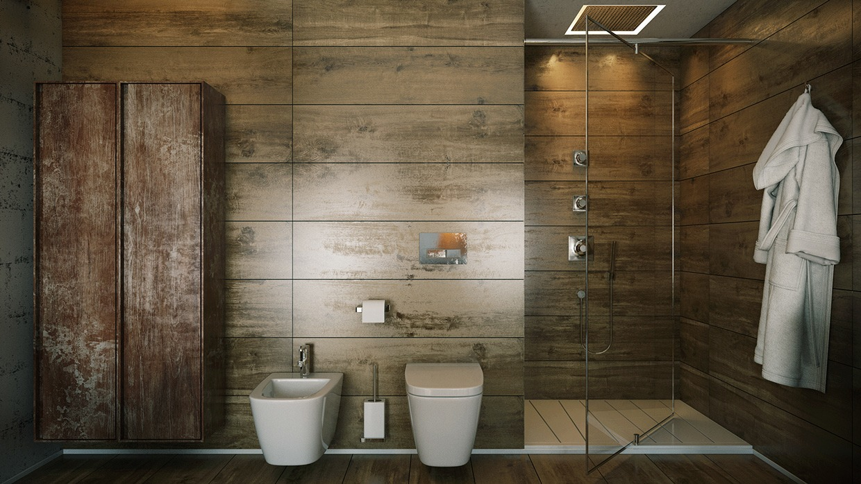 Rustic Wood Paneling for Walls Idea