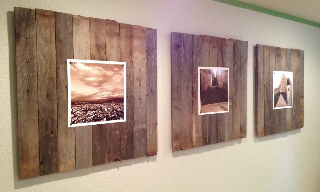 Simple Wood Panel Wall Art