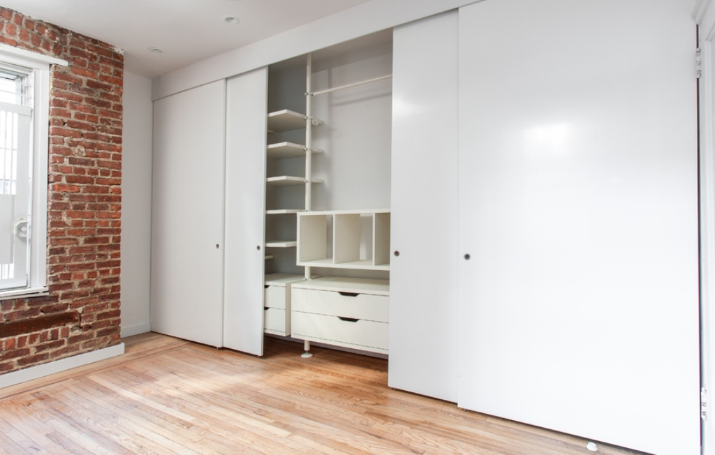 Sliding Panel Closet Doors Storage