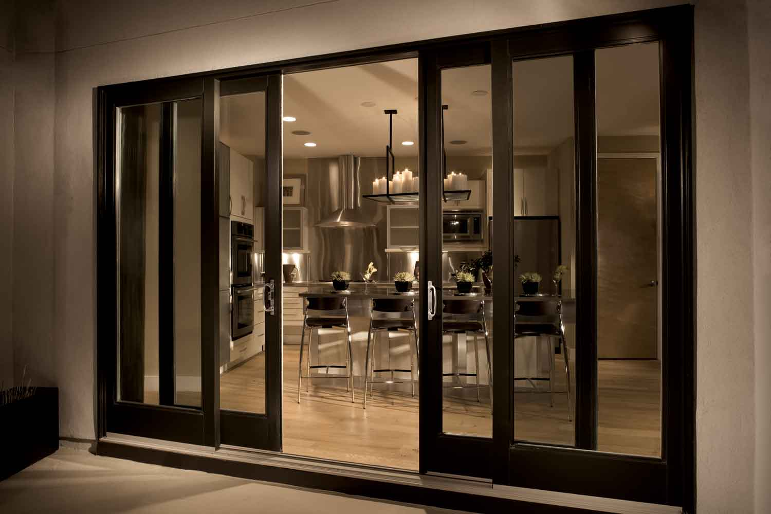 Image of: Stylish Sliding Door Panels