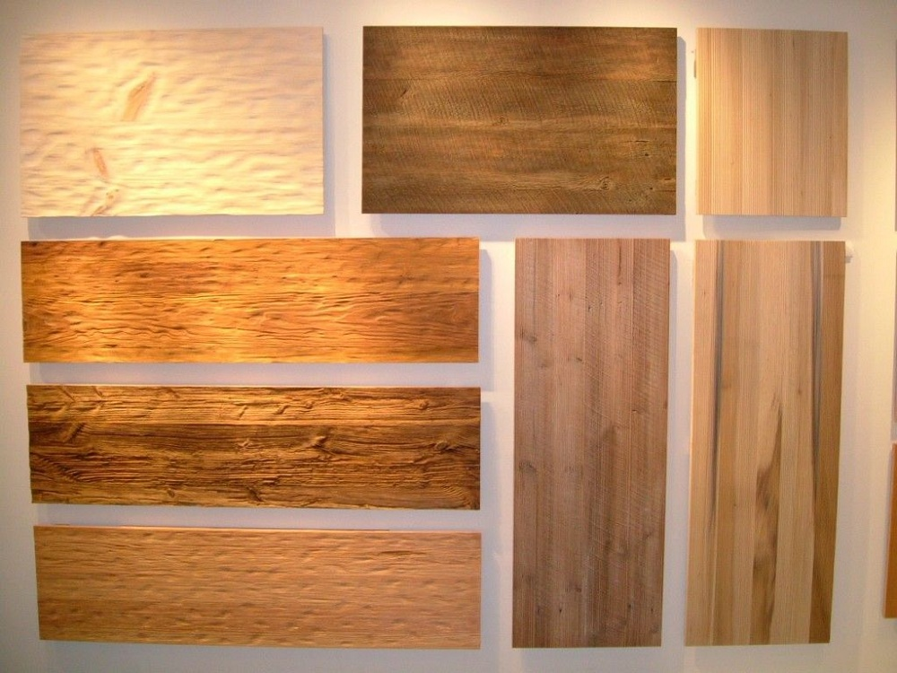 Image of: Texture Faux Reclaimed Wood Paneling