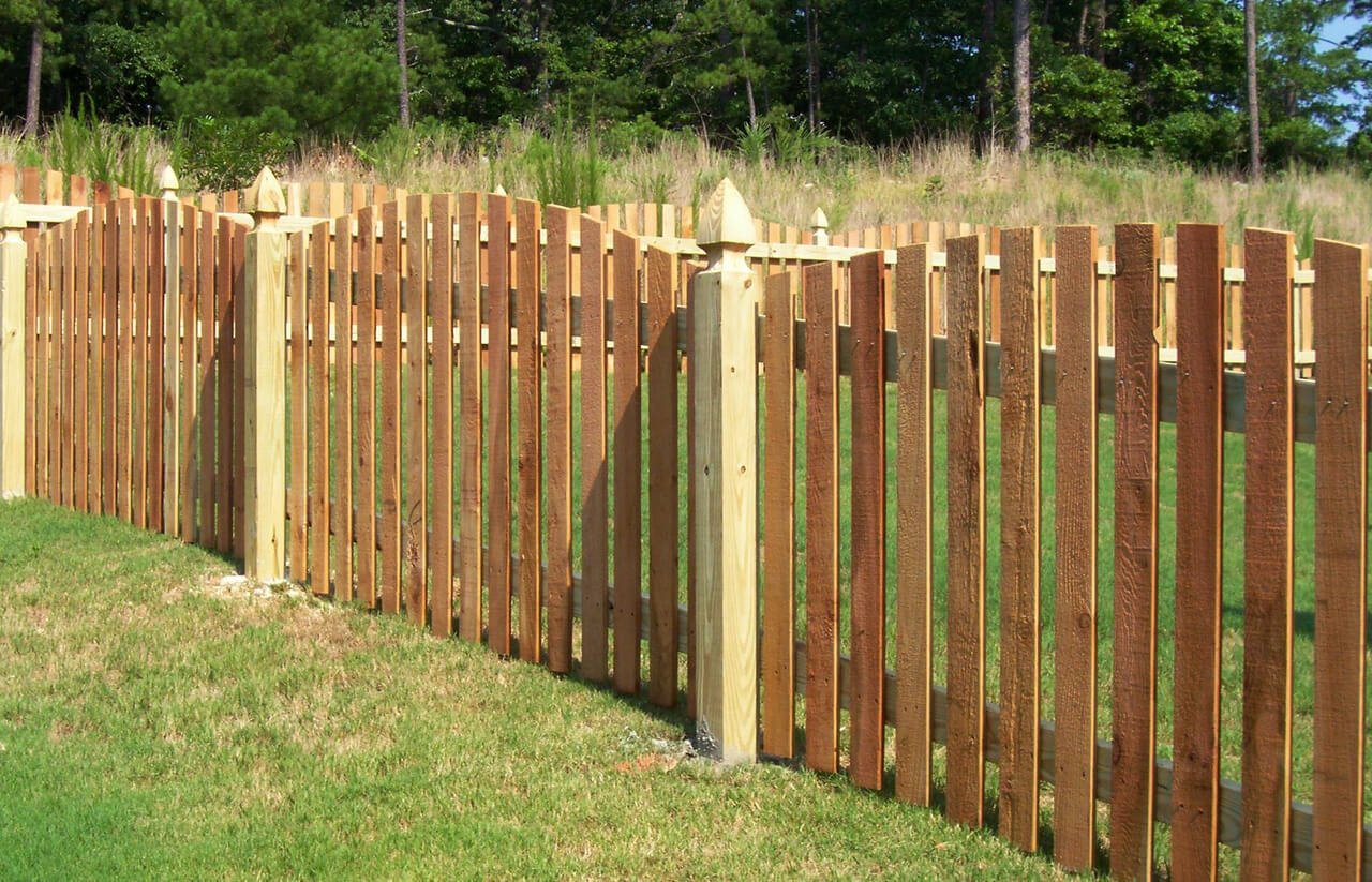 The Cedar Wood Fence Panels