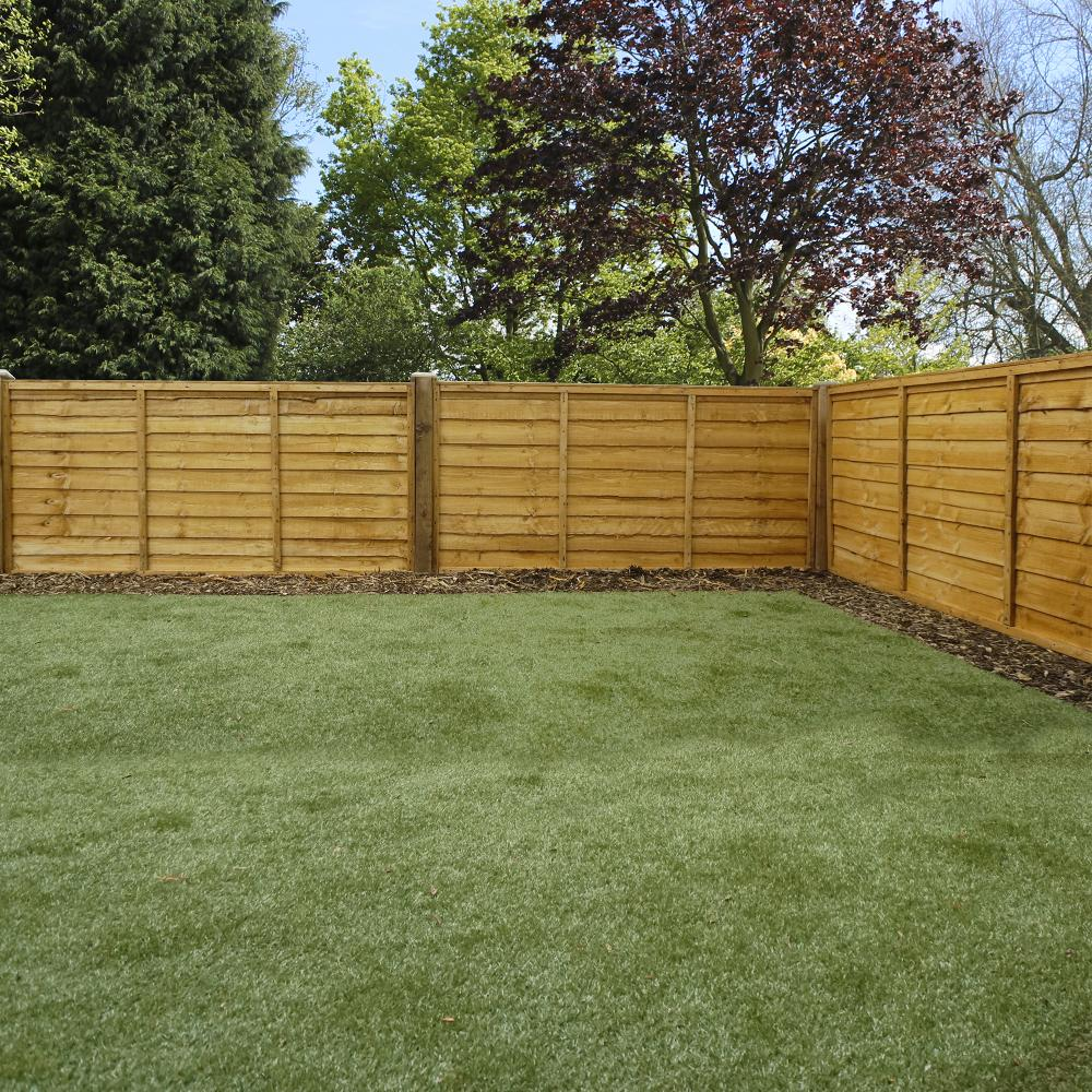 The Wood Picket Fence Panels