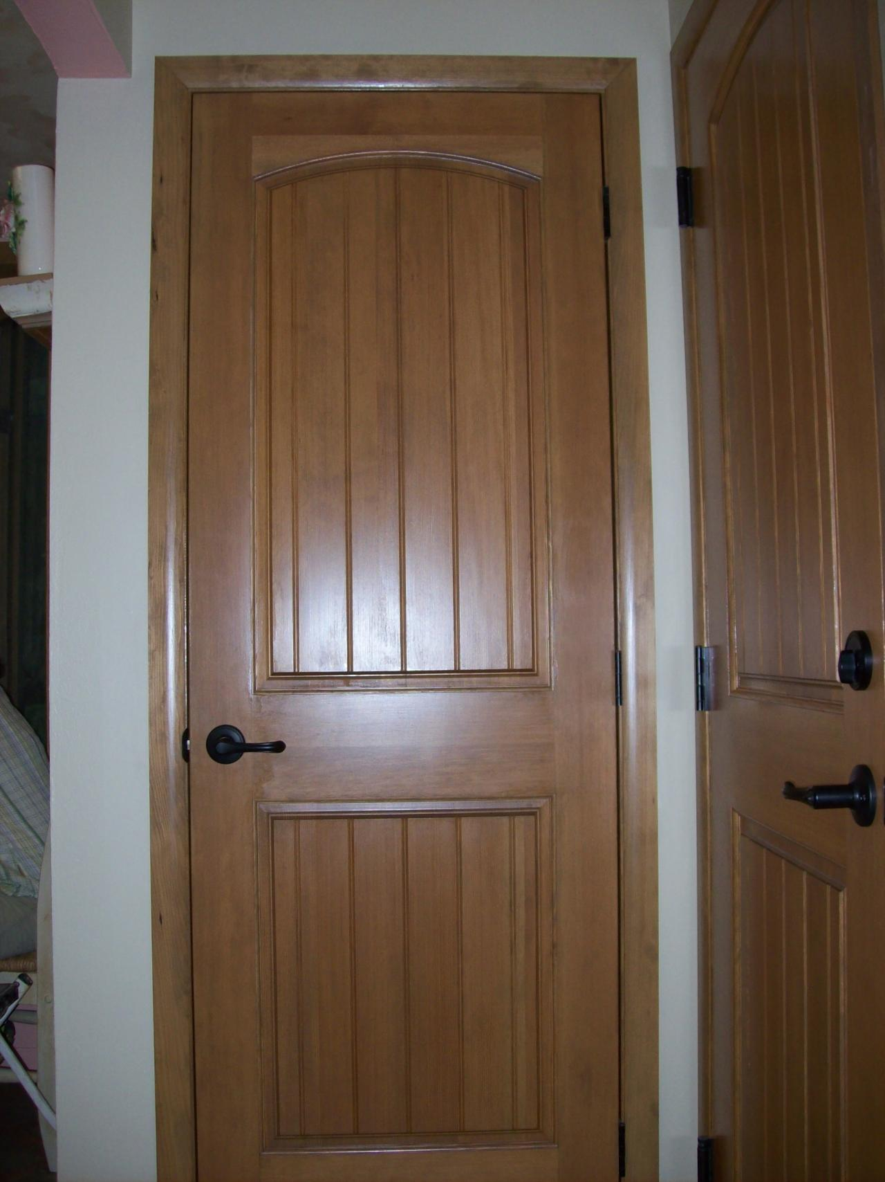 Image of: Two Panel Doors Color