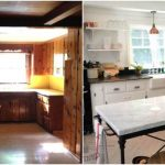 Wall Painting Wood Paneling Before And After Photos