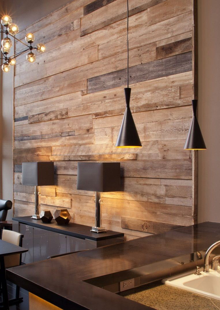 Wall Reclaimed Wood Paneling