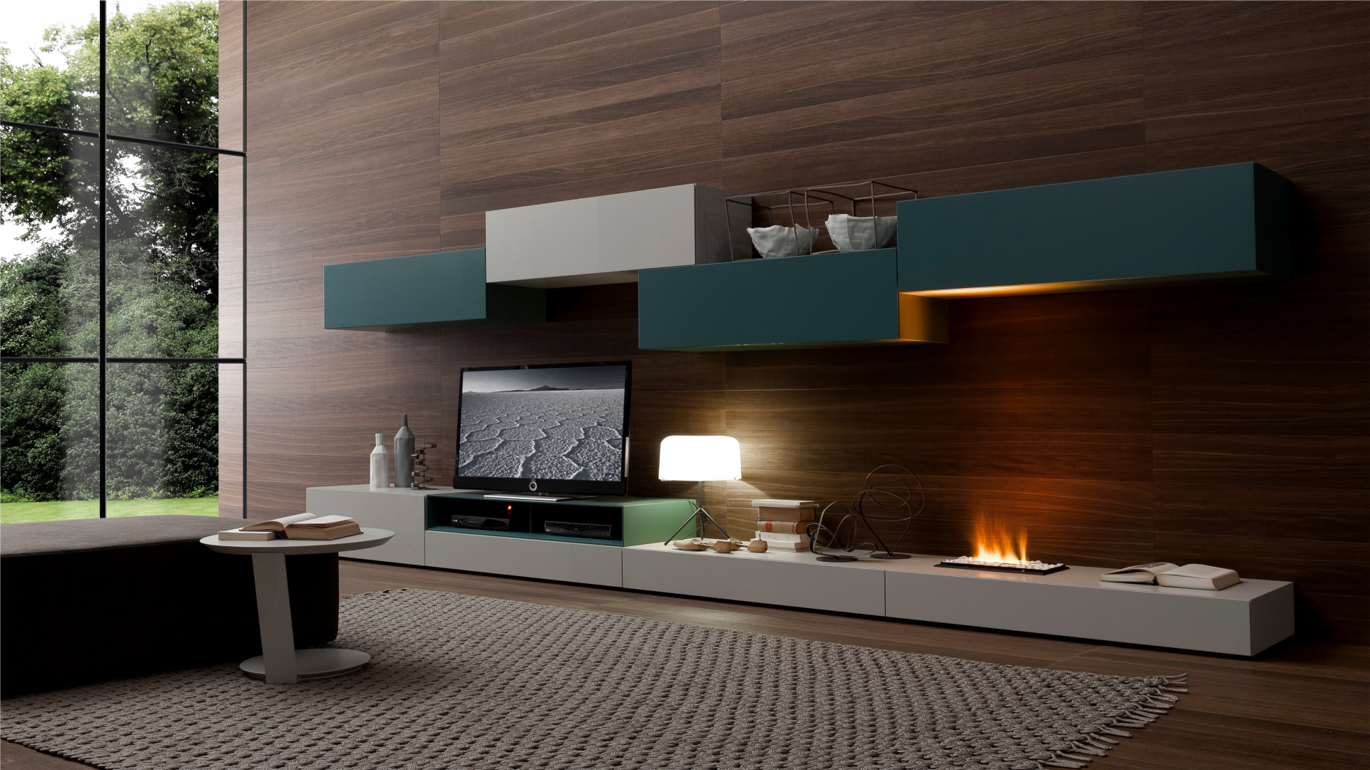 Image of: Wall Wood Paneling Design