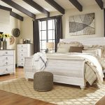 Whitewash Wood Paneling Furniture