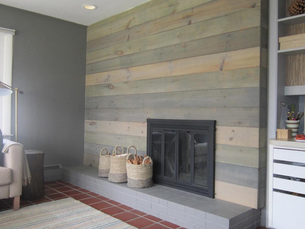 Whitewash Wood Paneling Plans