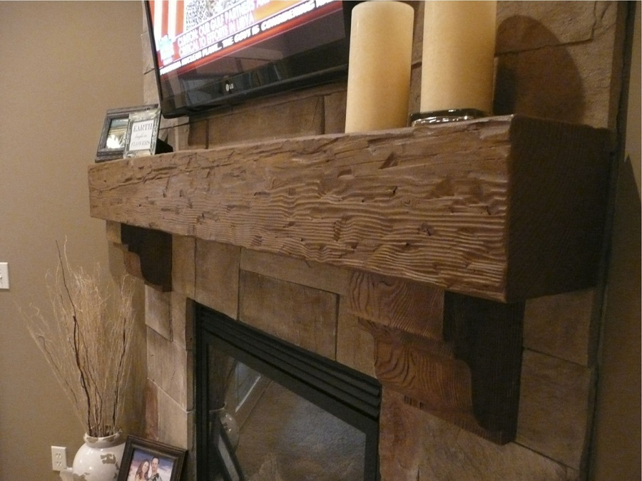 Image of: Wood Faux Reclaimed Wood Paneling