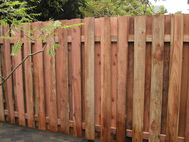 Image of: Wood Fencing Panels Design