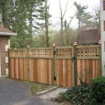 Wood Fencing Panels Low
