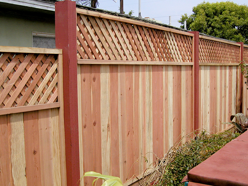 Wood Fencing Panels Plan