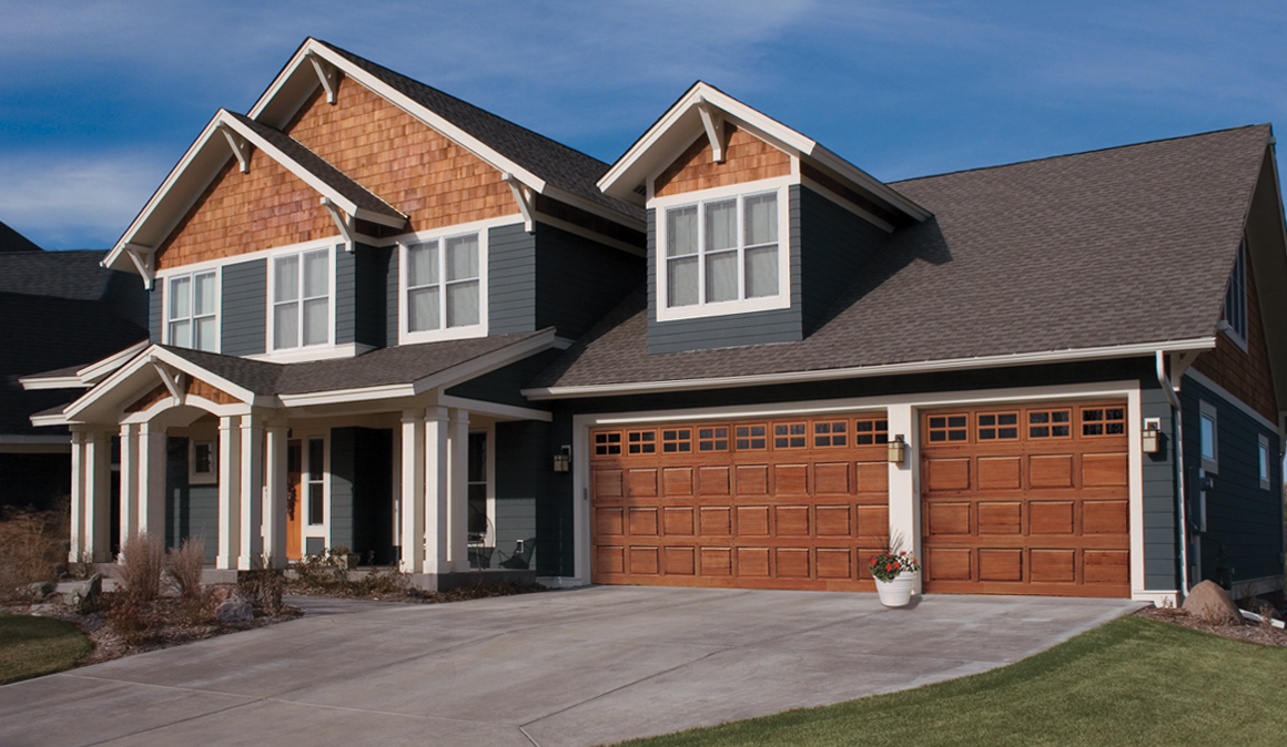 Image of: Wood Garage Door Panels Best