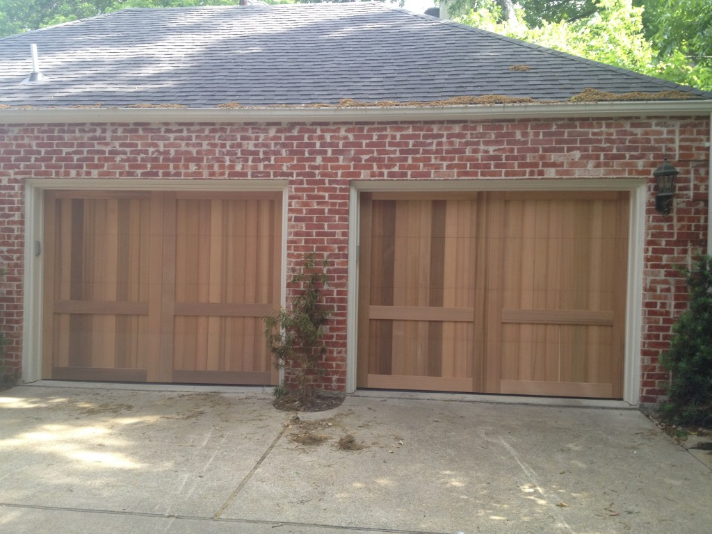 Wood Garage Door Panels Cedar