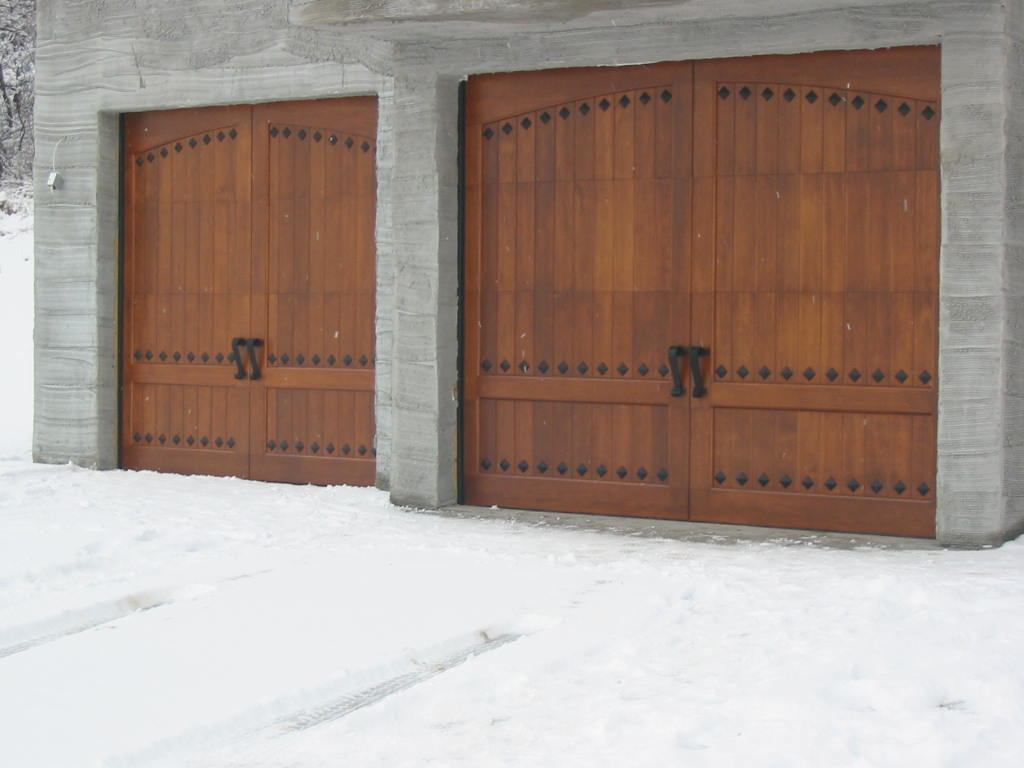 Wood Garage Door Panels Ideas