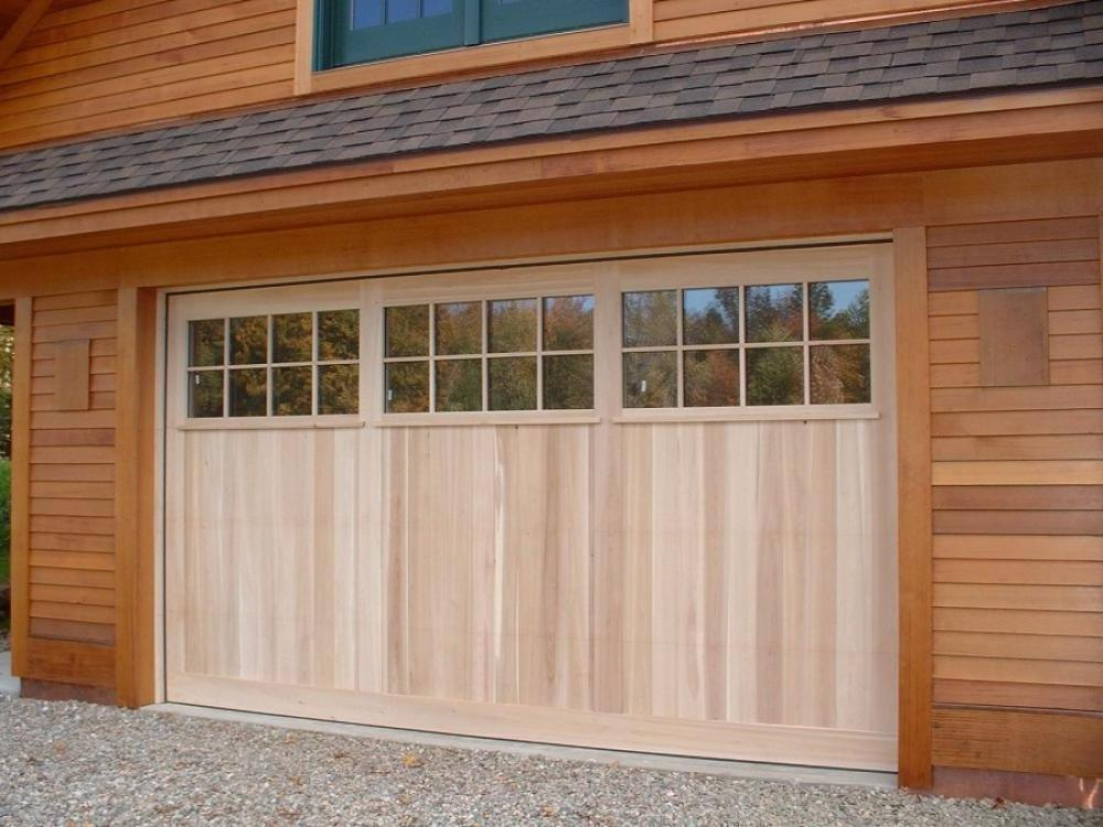 Wood Garage Door Panels Innovative