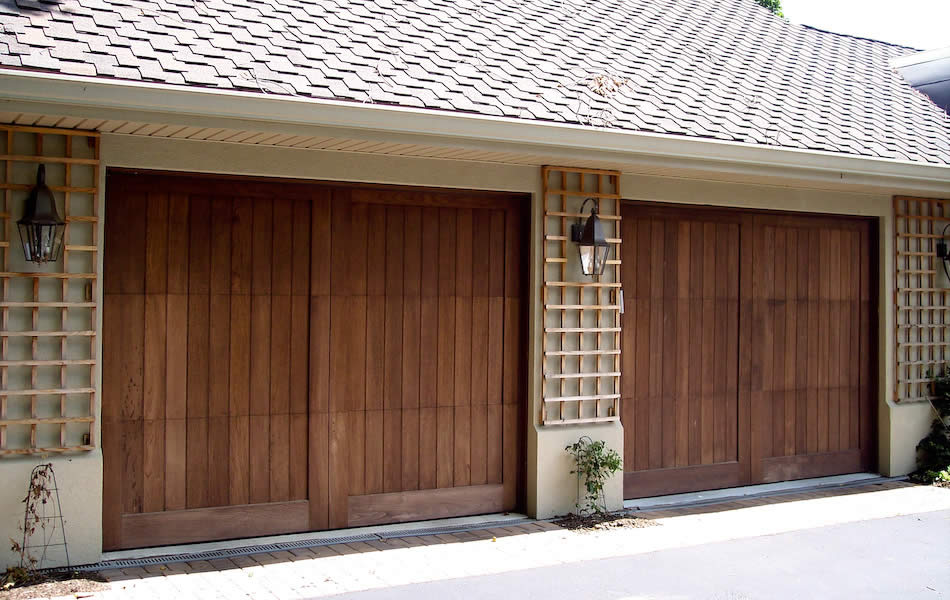 Wood Garage Door Panels Style
