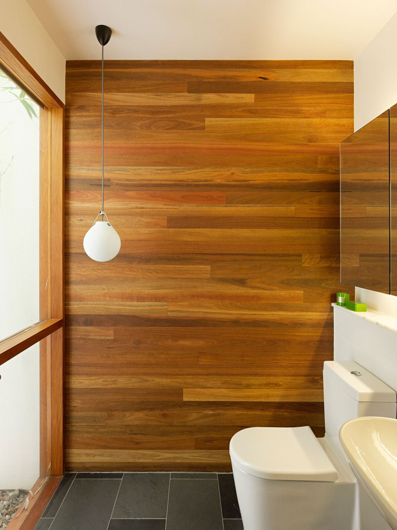 Image of: Wood Interior Wall Paneling Bath