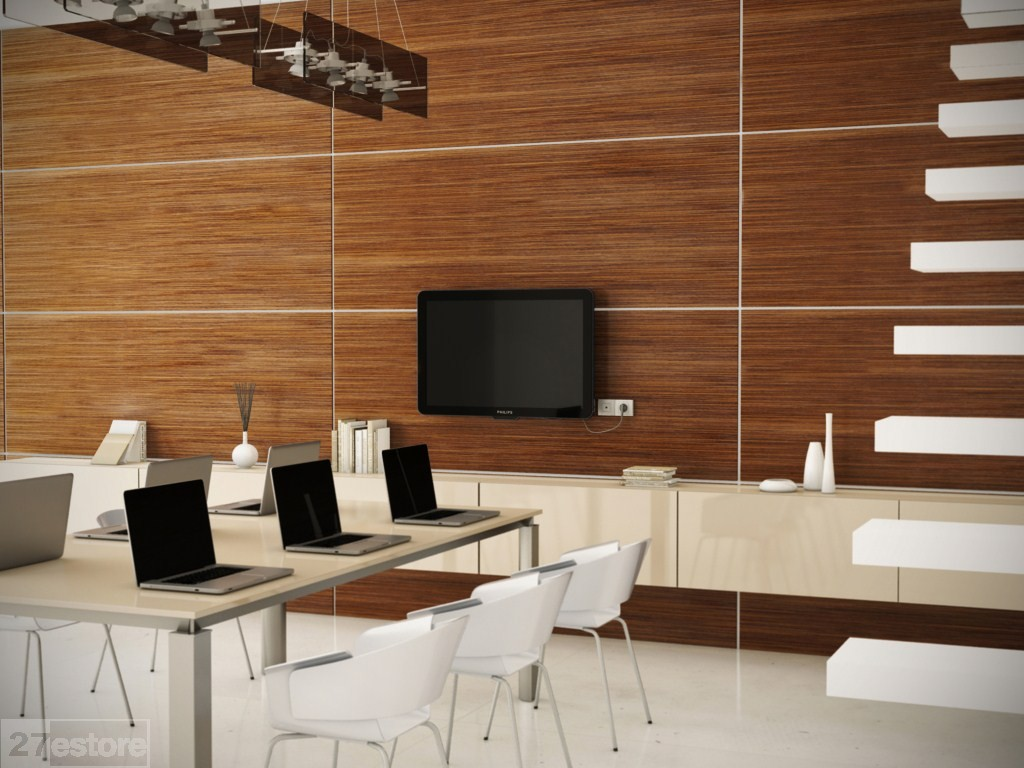 Wood Interior Wall Paneling Dining