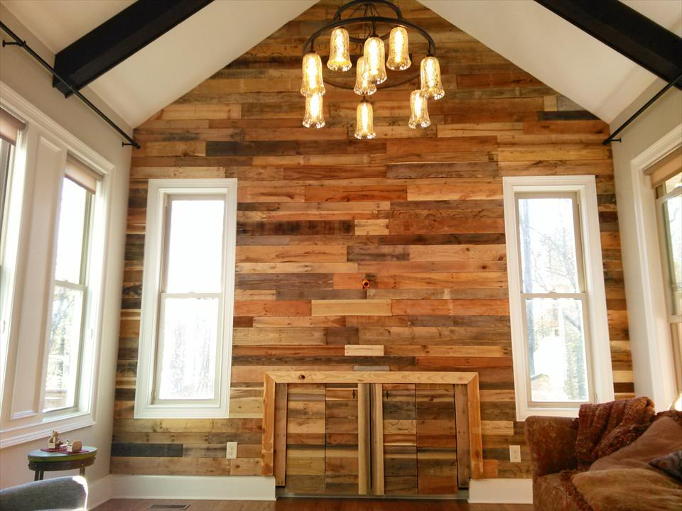 Image of: Wood Interior Wall Paneling Ideas