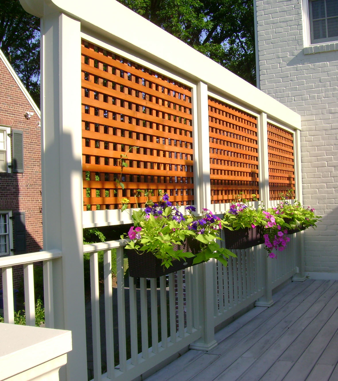 Image of: Wood Lattice Fence Panels Ideas