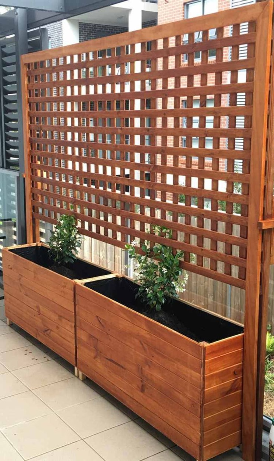 Image of: Wood Lattice Panels Designs