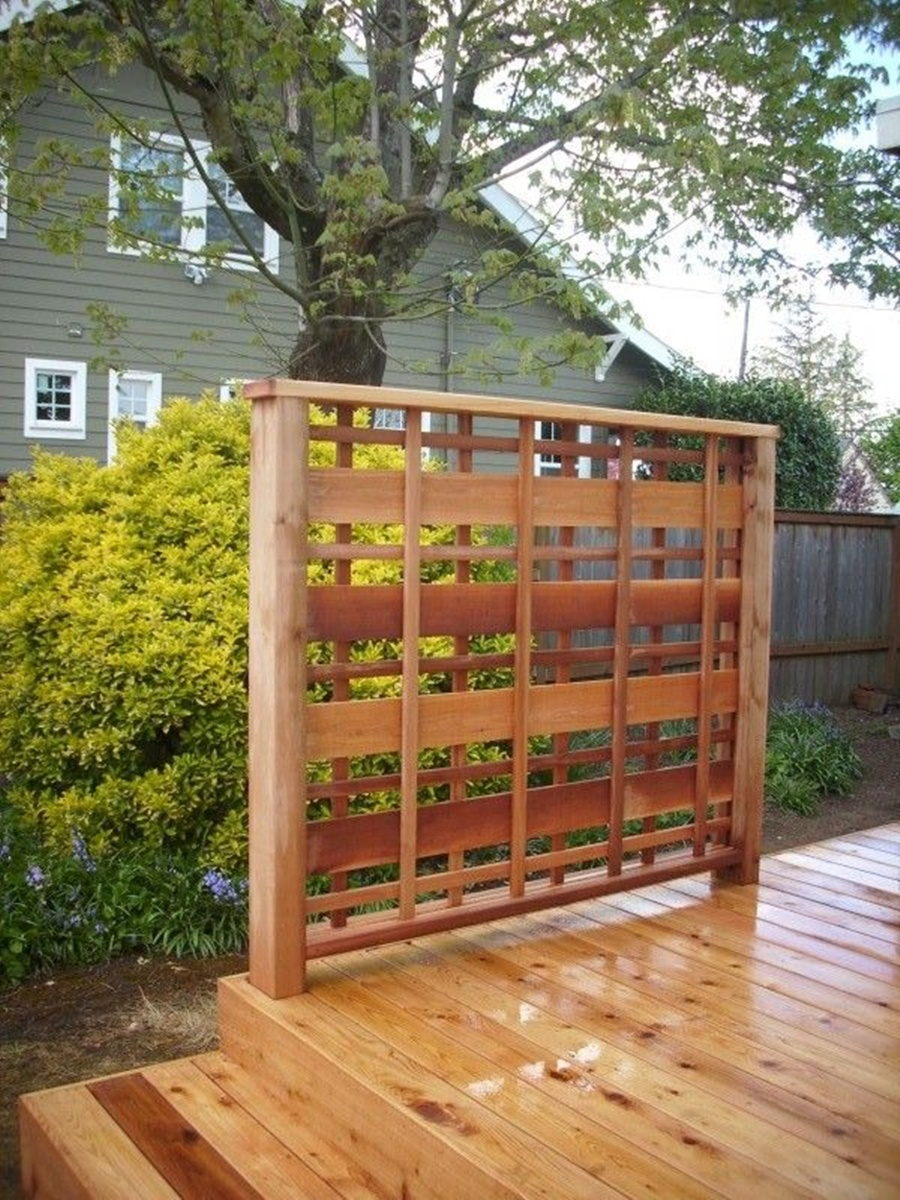 Image of: Nice Wood Lattice Panels Ideas
