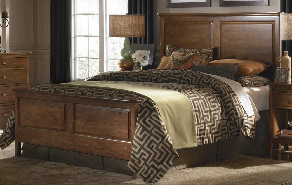 Image of: Wood Panel Bed Furniture