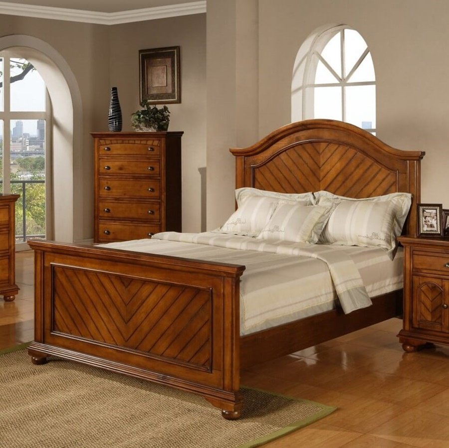 Image of: Wood Panel Bed Ideas