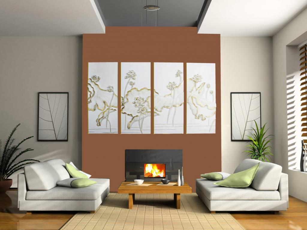 Wood Panel Wall Art Design