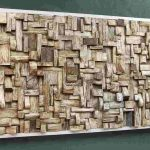 Wood Panel Wall Decor Art