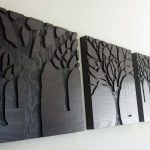 Wood Panel Wall Decor Paint