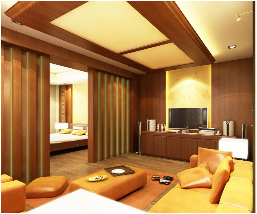 Wood Paneled Walls Bedroom