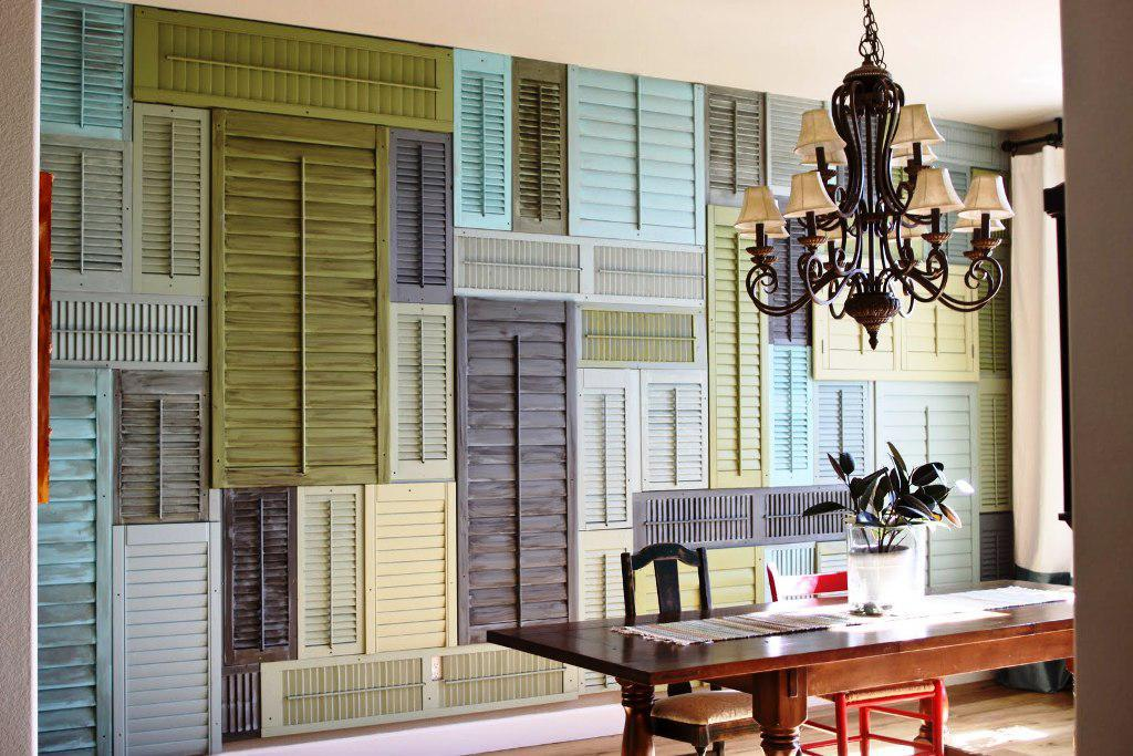 Wood Paneled Walls Paint