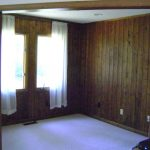 Wood Paneling Makeover Beautiful
